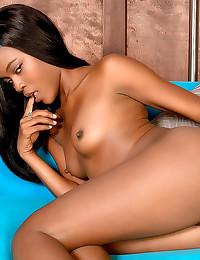 Milk down her black body