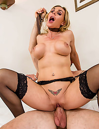 Naughty Blonde Banged From Behind