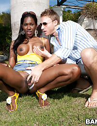 Dark Skinned Beauty Lucia Gets Ravaged