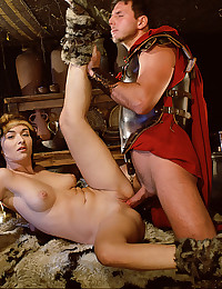 Ancient Sex Goddess Fucked By Soldiers