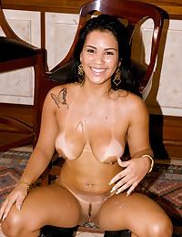 Erotic Brazilian Loves Enormous Cock