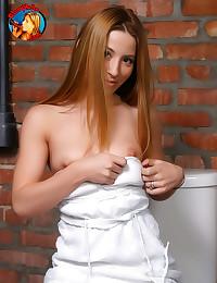 Blowing black dick in bathroo...
