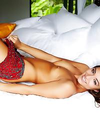 Slender goddess has a hot body