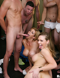 Horny Babes In Hardcore Orgy