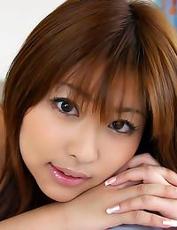 Hot nipples on Japanese cutie