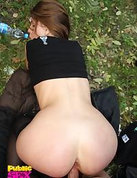 Young cutie in outdoor sex vids