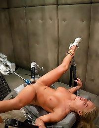 Tanned blonde and fucking mac...
