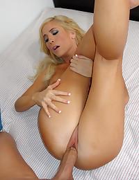 Sexy Blonde Goddess Tasha Gets Drilled