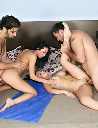 Naughty Geena Pleasures Her Man
