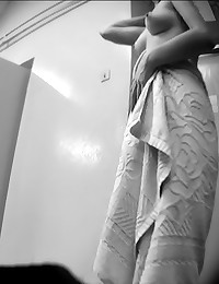 Post shower voyeur view