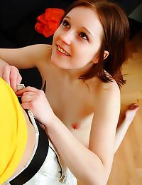 Adorable girl wants sex