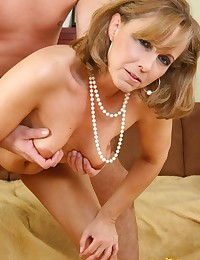 Blond Mom Good At Handling Cock