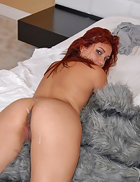 Latina redhead drilled by dick