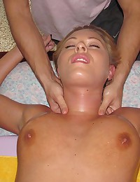 Sultry Riley Oiled Then Banged