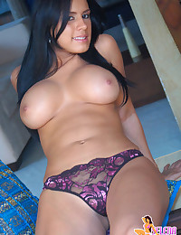 Selena Spice - It's just a pair of panties on this beautiful babe