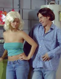 70s style hardcore porn parod...