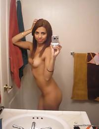 Photo set of sexy amateur Latina hotties