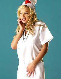 Shyla Stylez bust nurse solo