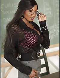 Black milf is sexy teacher
