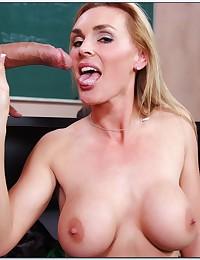 Naughty Blond Goddess Tanya Tate