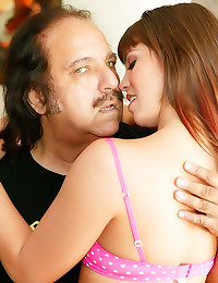 Ron Jeremy bangs young lady