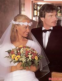 Shagging the bride and bridesmaid hardcore