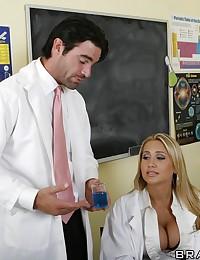 Doctor Alanah Fucks Co-worker