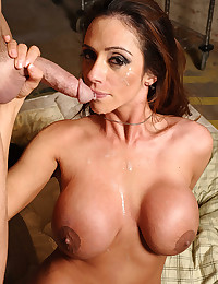 Busty Ariella Filled With Cock