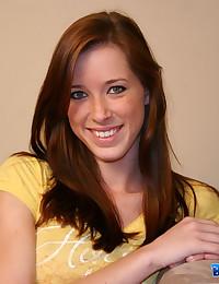 Brooke Skye - Slutty young broad exposing her skinny body