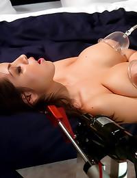 Big titty girl loves toys