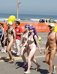 Real nudists from all over th...