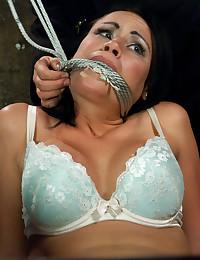 Hot chick bondage and toys
