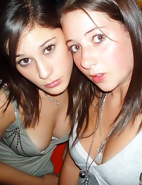 Slim sexy amateur party girls