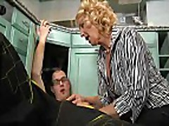 Granny Fucks With Younger Guy 2