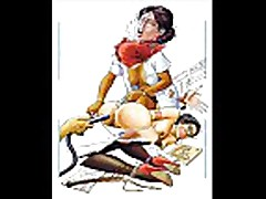 Huge Breasts Sexual BDSM Artworks