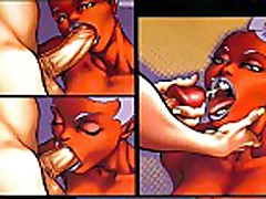 Comics: Interracial Hardcore Huge Breast Comics