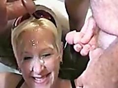 face full of cum4