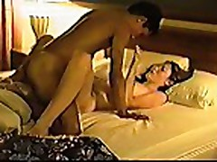 Homemade - young couple making love