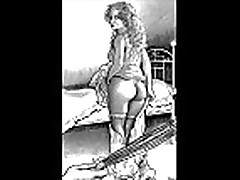 Bizarre and Erotic Female Spanking Artworks