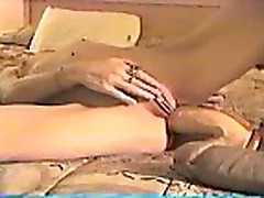 Nikki Pall taking a huge butt plug
