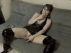 Sex in rubber and boots