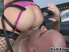 Vin Deacon And Diamond Foxxx - MILF Strap #01