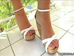 Jessica Lynn - Magical Feet - Jessica Lynns Smokin Hot Foot Rub