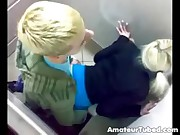 Russian nightclub toilet fuck compilation