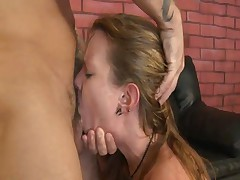 This Little Oral Slut Opens Up And Lets A Guy With A Big Cock Shove His Fuck Stick Down Her Needy Th