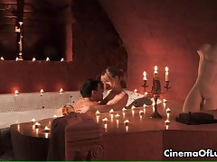 Sexy Young Couple Having Hot Erotic Sex In A Bathtub By CinemaOfLust