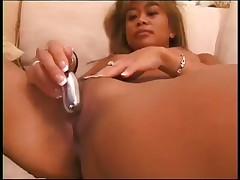 Model Tickles Clit pounding Meaty Prick