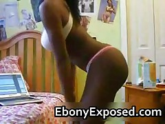 Webcam Ebony Chick Shows All The Goods 1 By EbonyExposed