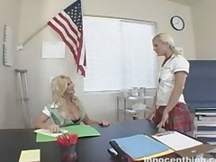 Brittany Andrews And Cali Cassidy - Innocent High