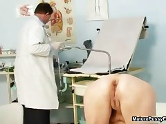 Grandma Gets Her Wet Pussy Examed By A Horny Old Doctor By MaturePussyExams